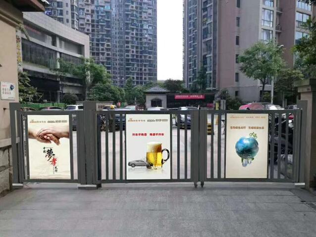 南宁自动广告门